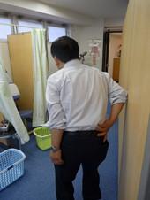 頸部脊柱管狭窄症の治療前|頸部脊柱管狭窄症の治療結果
